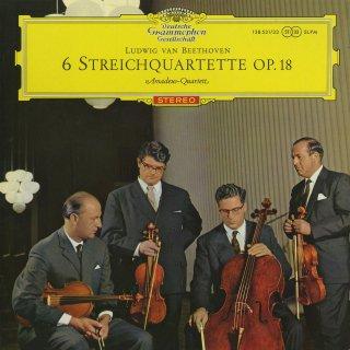 ベートーヴェン:弦楽四重奏曲1〜6番Op.18