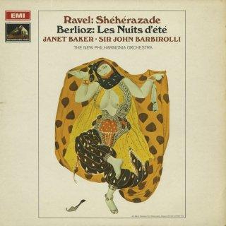 ラヴェル:シェエラザード,ベルリオーズ:歌曲「夏の夜」Op.7