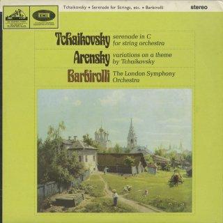 チャイコフスキー:弦楽合奏のセレナーデ,アレンスキー:チャイコフスキーの主題による変奏曲
