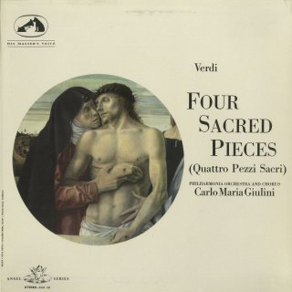 「ヴェルディ:4つの聖歌」アヴェ・マリア,スターバト・マーテル,聖母マリアへの讃歌,テ・デウム