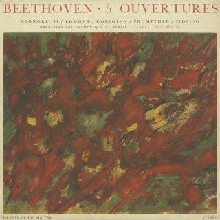 ベートーヴェン:序曲集/レオノーレ3番,エグモント,コリオラン,プロメテウス,フィデリオ