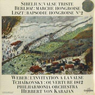 管弦楽曲集/チャイコフスキー:1812年序曲,シベリウス:悲しいワルツ,他
