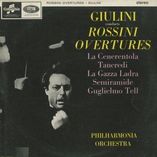 ロッシーニ:序曲集/シンデレラ,タンクレディ,泥棒かささぎ,セミラーミデ,ウィリアム・テル