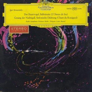 ストラヴィンスキー:組曲「火の鳥」,交響詩「ナイチンゲールの歌」