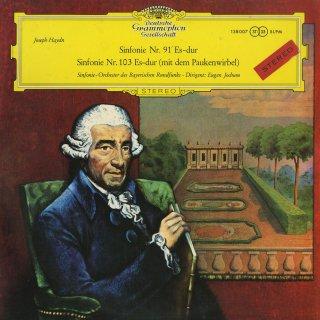 ハイドン:交響曲91番,103番「太鼓連打」