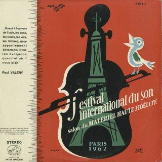 「音の国際フェスティバル1962年」(全9曲)ベートーヴェン:ピアノ・ソナタ26番Op.81〜1楽章,他
