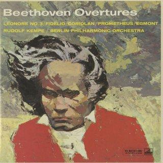 「ベートーヴェン:序曲集」フィデリオ,レオノーレ3番,コリオラン,プロメテウスの創造物,エグモント