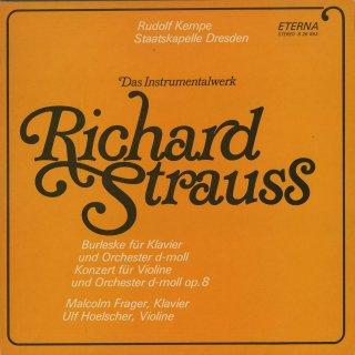 R.シュトラウス:ブルレスク,ヴァイオリン協奏曲Op.8