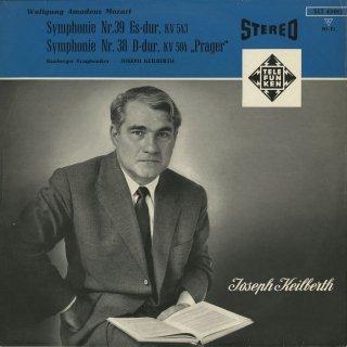 モーツァルト:交響曲39番K.543,38番K.504「プラハ」