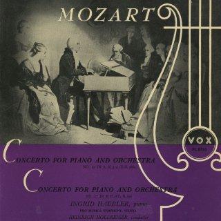 モーツァルト:ピアノ協奏曲12番K.414,27番K.595