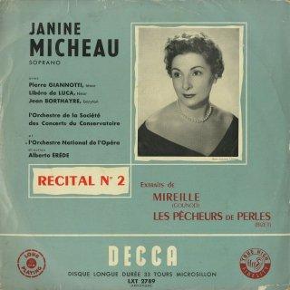「オペラアリア・リサイタルVol.2」ビゼー:真珠とり〜3曲,グノー:ミレイユ〜5曲