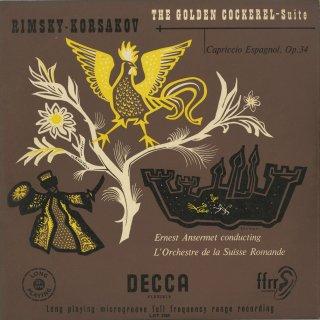 リムスキー・コルサコフ:「金鶏」組曲,スペイン奇想曲Op.34