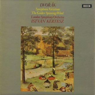 ドヴォルザーク:交響的変奏曲Op.78,金の紡ぎ車Op.109