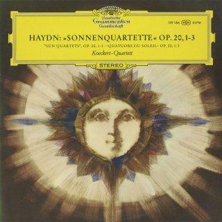 ハイドン:太陽四重奏曲Op.20−1〜3