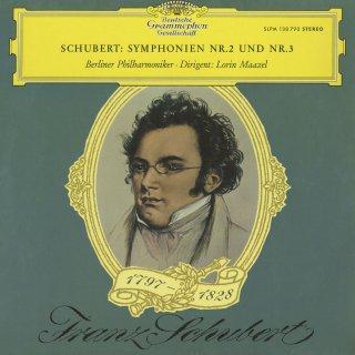 シューベルト:交響曲2,3番