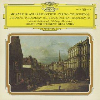 モーツァルト:ピアノ協奏曲20番K.466,18番K.456