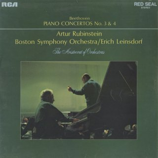 ベートーヴェン:ピアノ協奏曲3番Op.37,4番Op.58