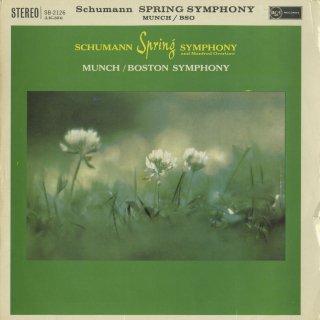 シューマン:交響曲1番Op.38「春」,マンフレッド序曲Op.115