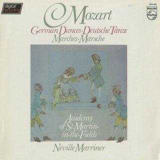 モーツァルト:ドイツ舞曲K.600,602,605,509,571,行進曲K.189,335−1,2