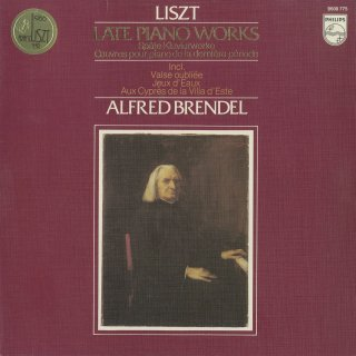 「リスト:後期ピアノ作品集」巡礼の年第3年〜2,4,5番,忘れられたワルツ1番,モショーニの葬送,他