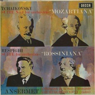 チャイコフスキー:管弦楽組曲4番「モーツァルティアーナ」,レスピーギ:ロッシニアーナ(4曲)