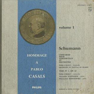シューマン:チェロ協奏曲Op.129,ピアノトリオ1番Op.63