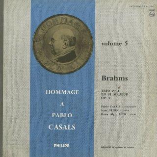 ブラームス:ピアノ三重奏曲1番Op.8