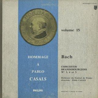 Vol.15/バッハ:ブランデンブルク協奏曲3〜5番