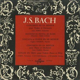 バッハ:ヴァイオリン協奏曲1番B.1041,トッカータとフーガ,ピアノ協奏曲,トリオ・ソナタ