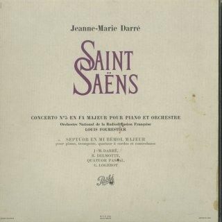 サン・サーンス:ピアノ協奏曲5番,七重奏曲