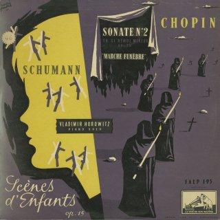ショパン:ピアノ・ソナタ2番Op.35,シューマン:子供の情景Op.15
