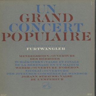 「ポピュラー・コンサート」メンデルスゾーン:序曲「フィンガルの洞窟」,他