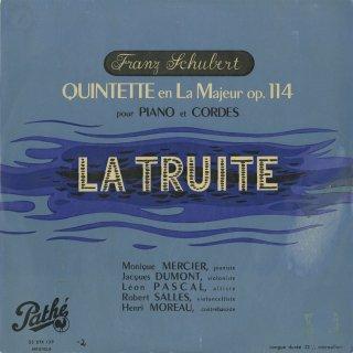 シューベルト:五重奏曲「ます」Op.114
