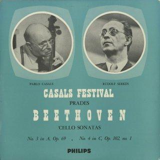 ベートーヴェン:チェロ・ソナタ3番Op.69,4番Op.102−1