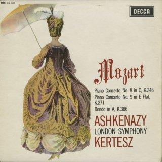 モーツァルト:ピアノ協奏曲8番K.246,9番K.271,ロンドK.386