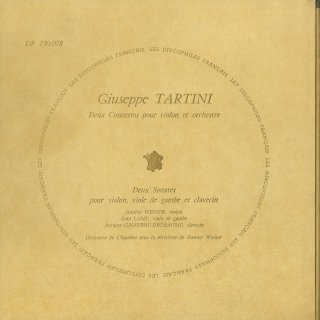 タルティーニ:ヴァイオリン協奏曲(2曲),トリオ・ソナタ(2曲)