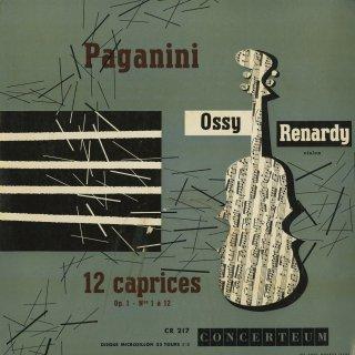 パガニーニ:24の奇想曲Op.1〜1−12番