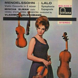 メンデルスゾーン:ヴァイオリン協奏曲Op.64,ラロ:スペイン交響曲Op.21