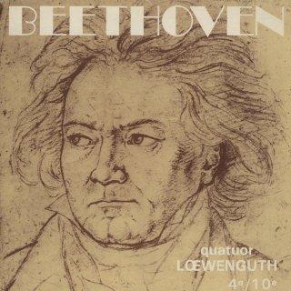 ベートーヴェン:弦楽四重奏曲4番Op.18−4,10番Op.74「ハープ」