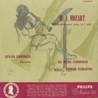 モーツァルト:クラリネット協奏曲K.622