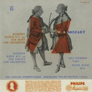 モーツァルト:ホルン協奏曲K.447,ファゴット協奏曲