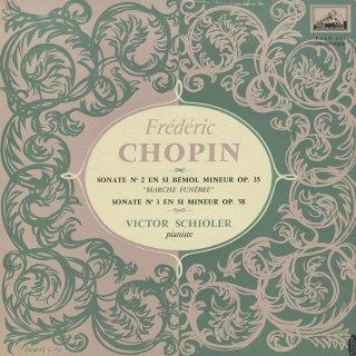 ショパン:ピアノ・ソナタ2番Op.35,3番Op.58