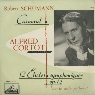 シューマン:謝肉祭Op.9,交響的練習曲Op.13