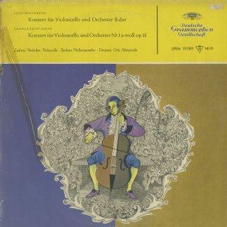 ボッケリーニ:チェロ協奏曲9番,サン・サーンス:チェロ協奏曲1番Op.33