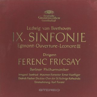 ベートーヴェン:交響曲9番「合唱」,エグモント序曲,レオノーレ3番