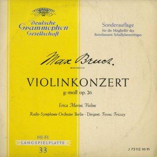 ブルッフ:ヴァイオリン協奏曲1番Op.26