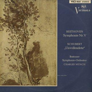 ベートーヴェン:交響曲5番Op.67「運命」,シューベルト:交響曲8番「未完成」