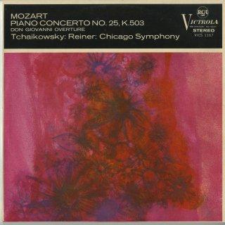 モーツァルト:ピアノ協奏曲25番,ドン・ジョヴァンニ〜序曲