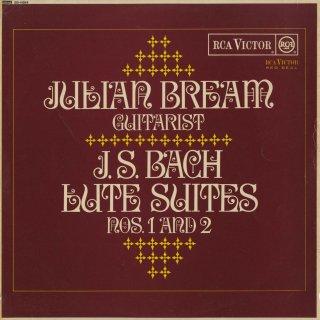 バッハ:Lute組曲1番B.996,2番B.997