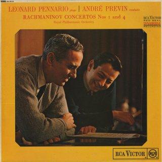 ラフマニノフ:ピアノ協奏曲1番Op.1,4番Op.40